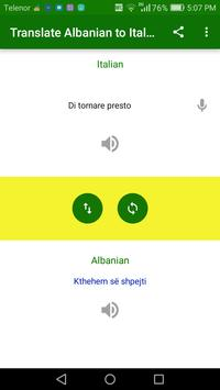 Translate Albanian to Italian screenshot 5