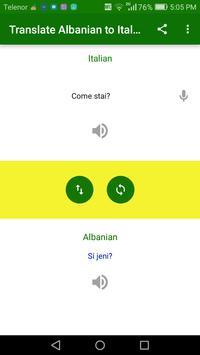 Translate Albanian to Italian screenshot 1