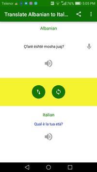 Translate Albanian to Italian screenshot 2
