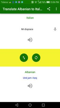 Translate Albanian to Italian screenshot 3