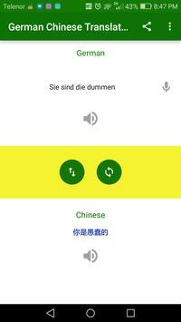 German Chinese Translator screenshot 3