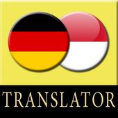 Indonesian German Translator icon