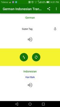 Indonesian German Translator screenshot 1