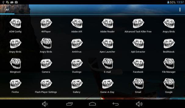 Troll Icon Pack Free apk screenshot