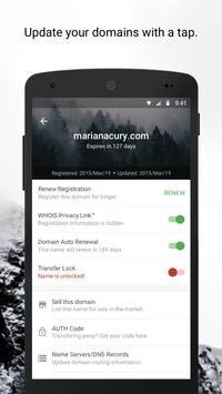 Uniregistry Domains apk screenshot