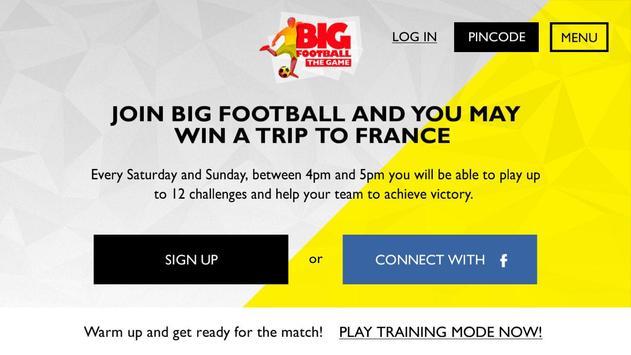 BIG Football The Game apk screenshot