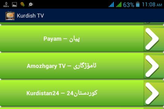 Kurdish TV –کوردییناوەندی TV screenshot 8
