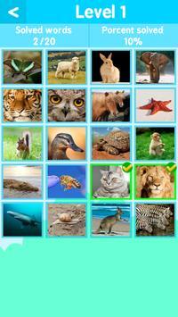 Animal Quiz 1 Pics 1 Word screenshot 2