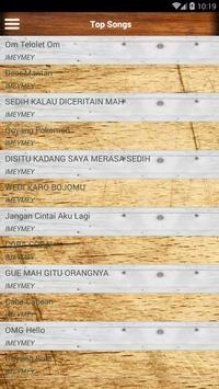 Lagu Dangdut iMeyMey Lengkap screenshot 1