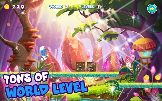 Jungle Smurf Universal Adventure apk screenshot