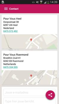 Pour Vous Heel-Roermond apk screenshot