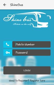Shine Bus apk screenshot
