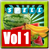 Learn To Spell Fruits icon