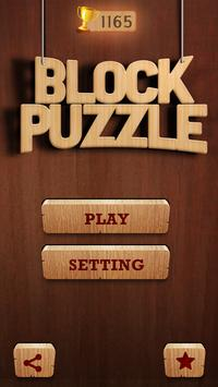 Wooden Block Puzzle poster