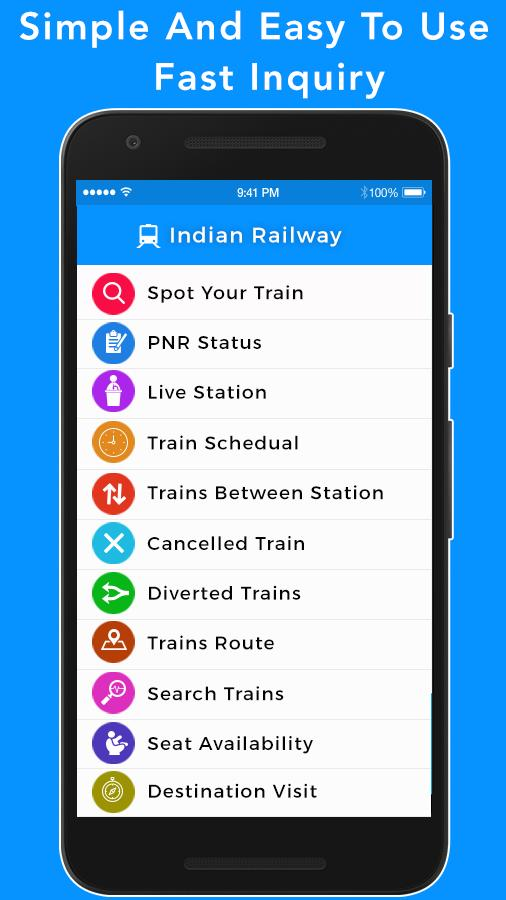 Train Seat Availability - Indian Railway for Android - APK