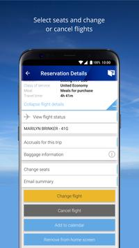 United Airlines apk screenshot