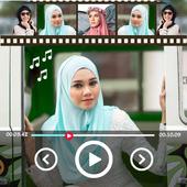 صنع فيديو من الصور مع الاغاني بدون نت icon