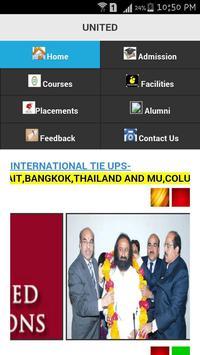 United college app poster