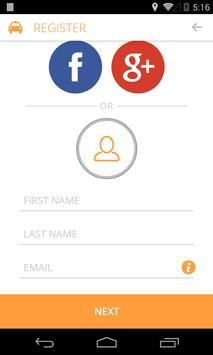 Ride United Taxi App apk screenshot
