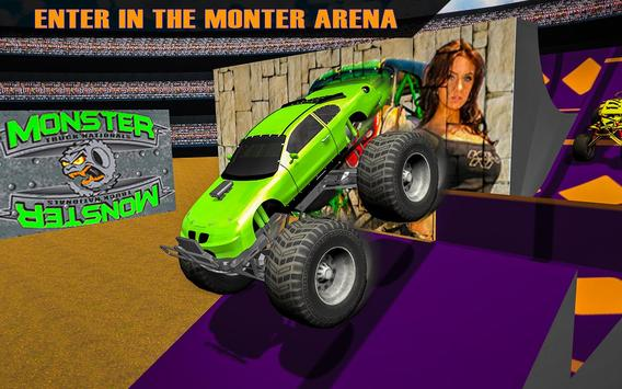 Monster Truck  Arena 2017 apk screenshot
