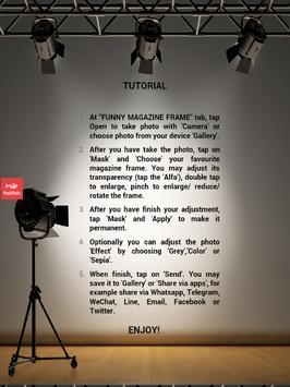 Awesome Magazine Frame apk screenshot