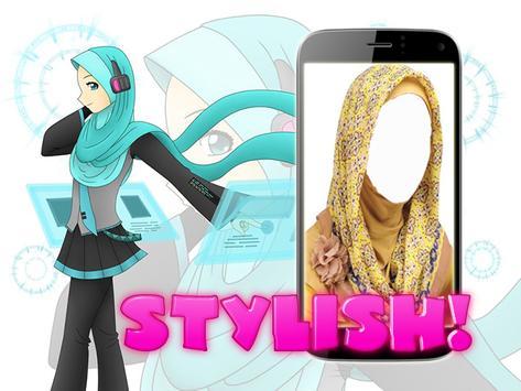 Hijab Fashion Photo Montage screenshot 4