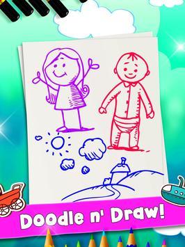 Color & Draw - Doodle Paint screenshot 6