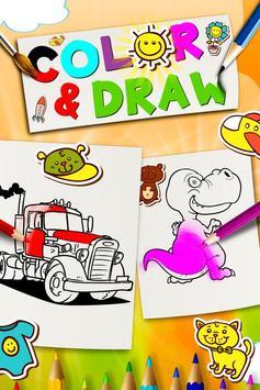 Color & Draw - Doodle Paint poster