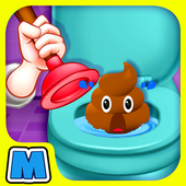 Bathroom Clean up 2 icon