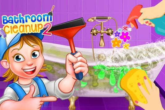 Bathroom Clean up 2 poster