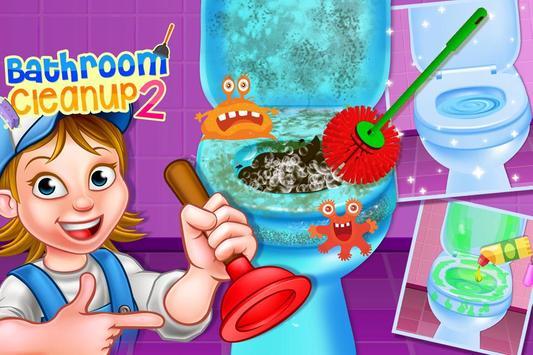 Bathroom Clean up 2 apk screenshot