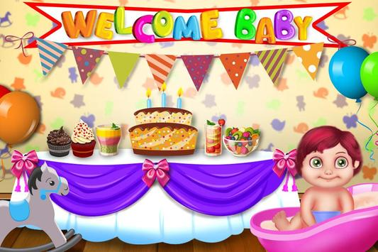 Babysitter First Day Madness - Baby Care Nursery poster