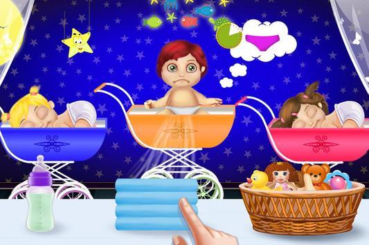 Babysitter First Day Madness - Baby Care Nursery screenshot 1
