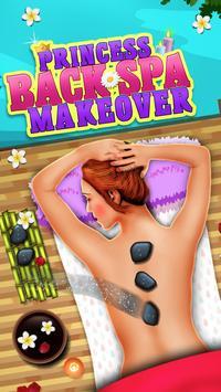Princess Back Spa Makeover apk screenshot