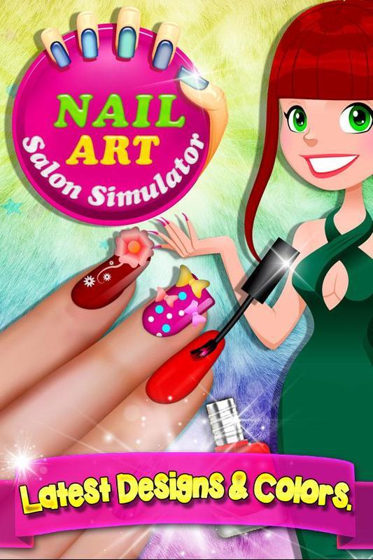 Nail Art Salon Simulator APK Baixar - Grátis Simulação Jogo para ...