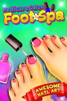 Foot Spa - Pedicure Salon poster