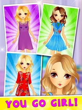 Girls Hair Salon Makeover apk screenshot