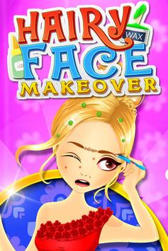 Hairy Face Makeover Salon poster