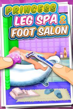 Princess Leg Spa & Foot Salon poster