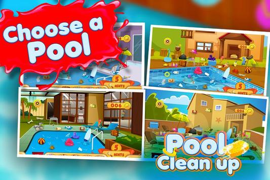 Pool Clean up poster