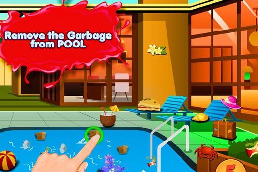 Pool Clean up screenshot 1