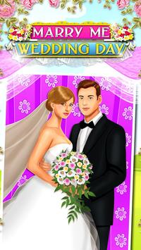 Marry Me Wedding Day Salon poster