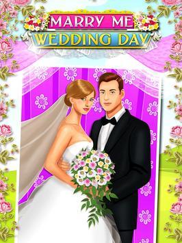 Marry Me Wedding Day Salon apk screenshot
