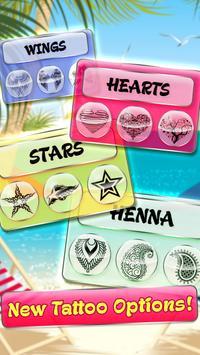 Beach Girls' Tattoo Salon apk screenshot