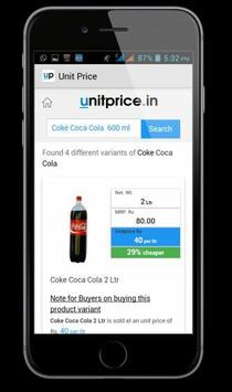 UnitPrice:Find Best Retail Buy poster