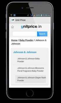 UnitPrice:Find Best Retail Buy apk screenshot