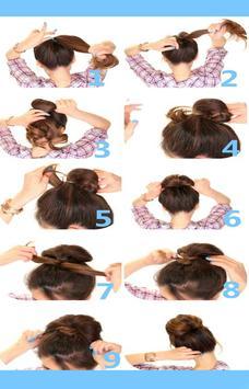 Easy hairstyles 2015 apk screenshot