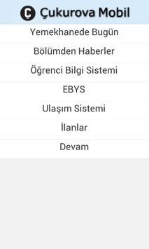 Çukurova Mobil screenshot 1