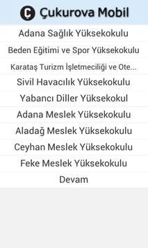 Çukurova Mobil screenshot 5