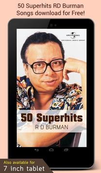50 Superhits RD Burman screenshot 4